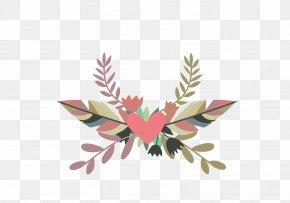 Dream Wedding Bouquet Element - Wedding Invitation Element PNG
