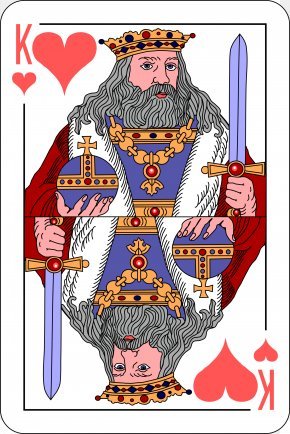 Ace Card - King Of Hearts Playing Card Ace PNG