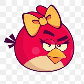 Crazy Bird - Angry Birds Space Angry Birds 2 Clip Art PNG