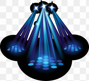 Blue Stage Background Lights - Spotlight Stage Lighting PNG