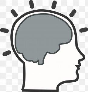 Brain Cliparts - Brain Black And White Clip Art PNG