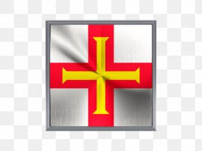 Metal Square - Flag Of Guernsey Bailiwick Of Guernsey Jersey PNG