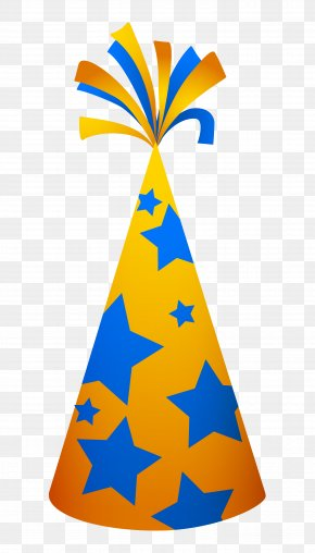 Party Hat - Birthday Cake Party Greeting Card PNG