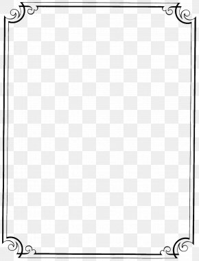 Fancy Borders - Borders And Frames Free Content Paper Clip Art PNG
