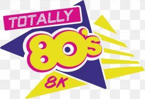 Run The Valley Race Series Logo Sponsor Brand RunningRunning Poster - Totally 80s 8k PNG