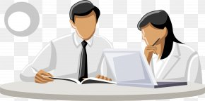 Vector Business People Talking - Business Resource Antreprenor Management PNG