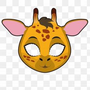 Sika Deer Mask - Northern Giraffe Drawing Stock Illustration Illustration PNG
