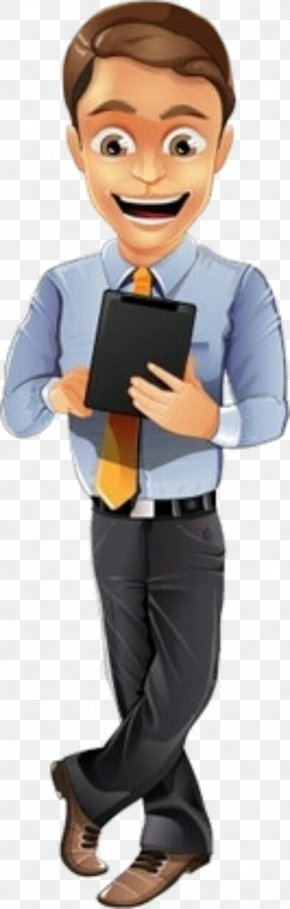 Character - Businessperson Character PNG
