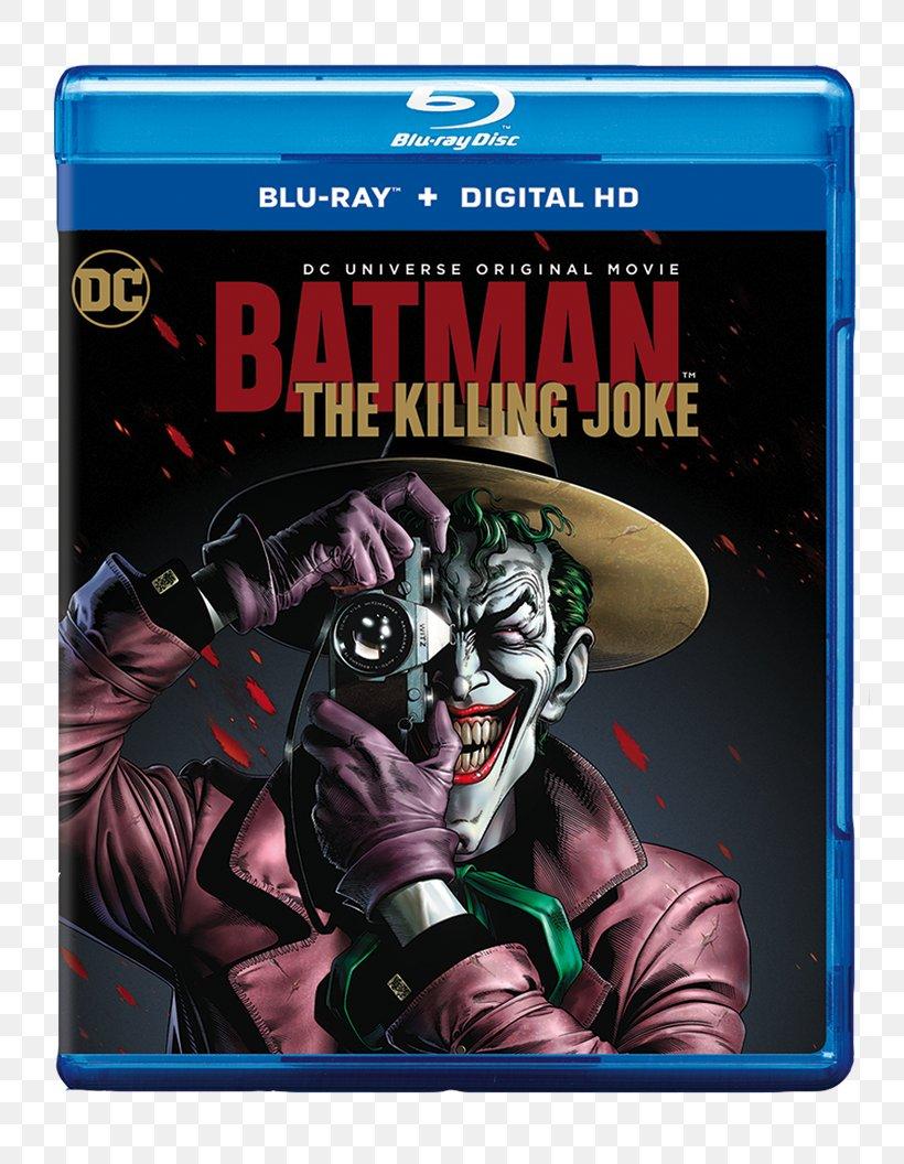 Batman The Killing Joke Joker Blu Ray Disc Barbara Gordon Png 800x1056px Batman Action Figure Barbara
