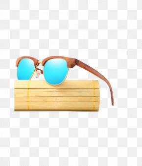 Sunglasses - Goggles Sunglasses Polarized Light Wood PNG