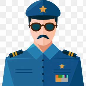 Police Man Wearing Glasses - My Town : Police Station Police Officer Icon PNG