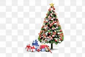 Christmas Tree - Santa Claus Christmas Decoration Gift Christmas Tree PNG