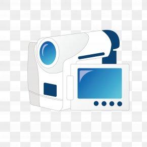 Small Home DV Camera - Video Camera Icon PNG