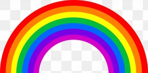 Rainbow Image - Light Rainbow Color Visible Spectrum Orange PNG