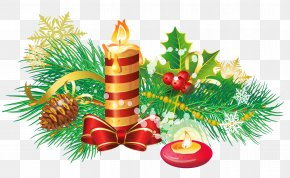Christmas - Christmas Ornament Candle Clip Art PNG