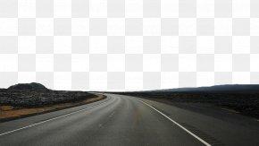 Cement Road - Highway Asphalt Road Surface Road Trip PNG