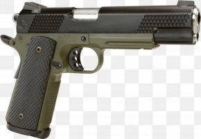 Handgun - Springfield Armory, Inc. M1911 Pistol .45 ACP PNG