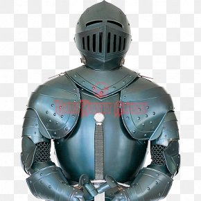 Knight - Plate Armour Middle Ages Knight Components Of Medieval Armour PNG