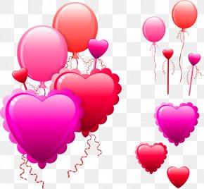Valentine's Day - Valentine's Day Heart Blog Clip Art PNG