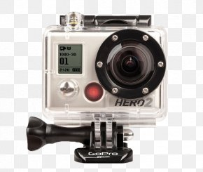 GoPro Hero 2 Camera - GoPro Hero2 Action Camera High-definition Video 1080p PNG