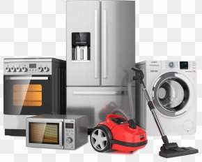 Home Appliances - Home Appliance Refrigerator Stock Photography Cooking Ranges Small Appliance PNG