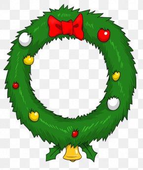 Xmas Wreath Cliparts - Wreath Christmas Garland Animation Clip Art PNG