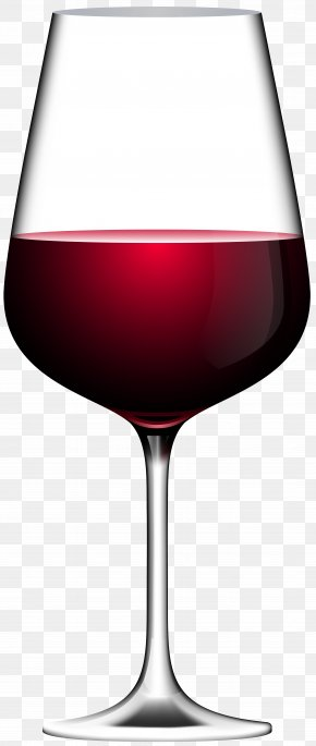 Red Wine Glass Transparent Clip Art Image - Red Wine Champagne Wine Glass Clip Art PNG
