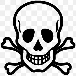 Tete De Mort - Skull And Crossbones Drawing Skull And Bones PNG