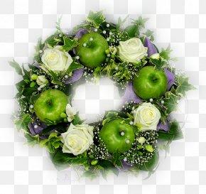 Flower - Floral Design Wreath Flower Bouquet Artificial Flower PNG