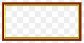 China Wind Border - Board Game Picture Frame Yellow Area Pattern PNG