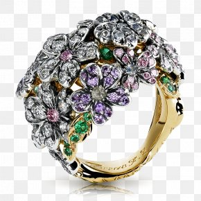 Ring - Ring Jewellery Diamond Fabergé Egg Sapphire PNG