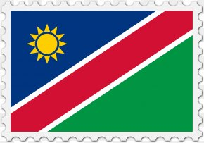 Flag - Flag Of Namibia National Flag Flags Of The World PNG