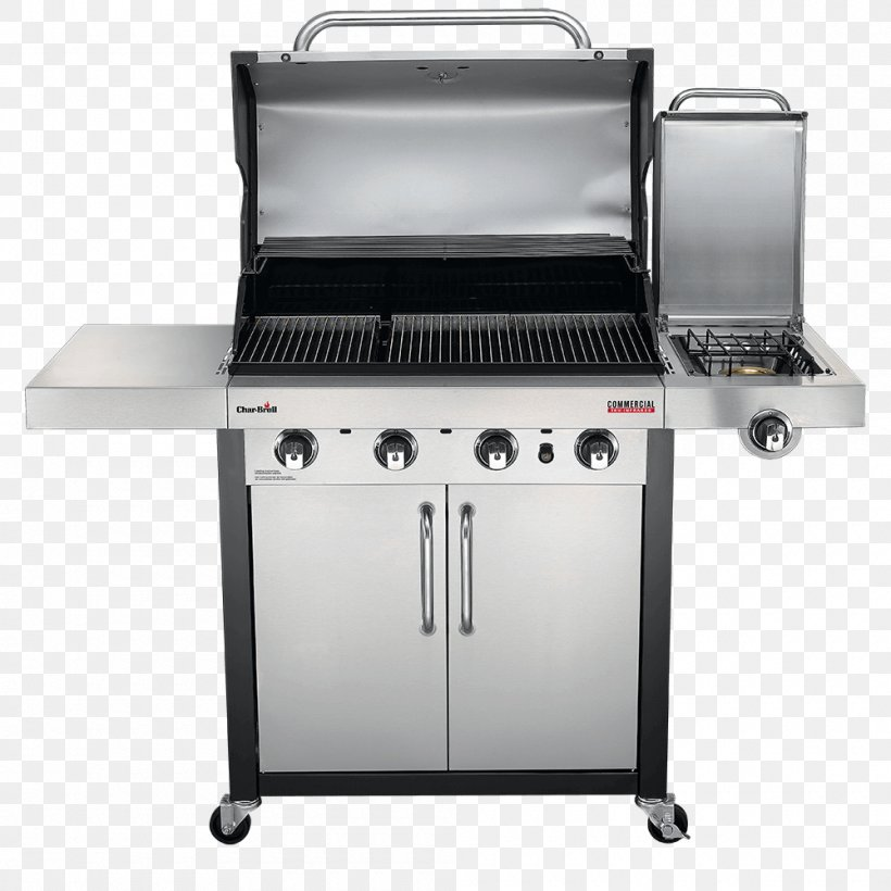 Barbecue Grilling Char-Broil TRU-Infrared 463633316 Char-Broil Performance 4 Burner Gas Grill, PNG, 1000x1000px, Barbecue, Barbecue Grill, Charbroil, Charbroil Truinfrared 463633316, Cooking Download Free