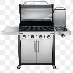 Barbecue - Barbecue Grilling Char-Broil TRU-Infrared 463633316 Char-Broil Performance 4 Burner Gas Grill PNG