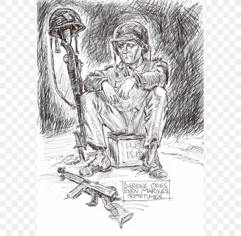 Drawing Memorial Day Art Sketch, PNG, 567x800px, Drawing, Art, Artwork, Black And White, Cartoon Download Free