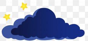 Clouds Stars - School Kindergarten Clip Art PNG