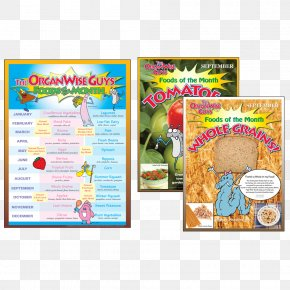Food Poster - The OrganWise Guys Food Health Nutrition Education PNG