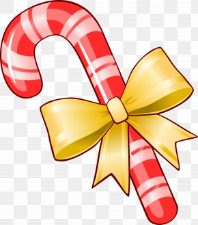 Christmas - A Christmas Candy Cane Clip Art Stick Candy Gingerbread House PNG