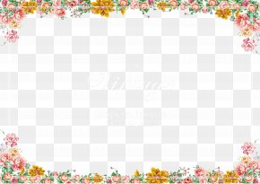Small Fresh Lace Camera Frame - Camera Film Frame Picture Frame PNG