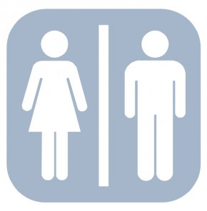 Cliparts Restroom Map - Unisex Public Toilet Bathroom Male PNG