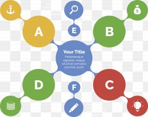 Color Circle Information Chart - Infographic Diagram Chart Template PNG