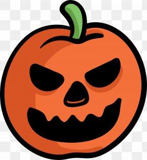 Halloween Pumpkin - Jack-o'-lantern Halloween Pumpkin Calabaza PNG