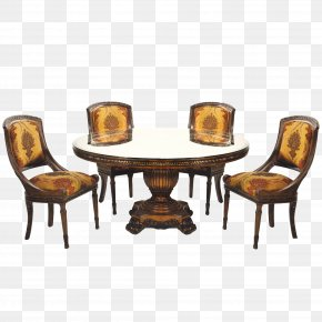 Table - Table Furniture Chair Dining Room Matbord PNG