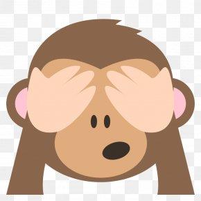 Evil - Emoji Three Wise Monkeys Emoticon Evil PNG