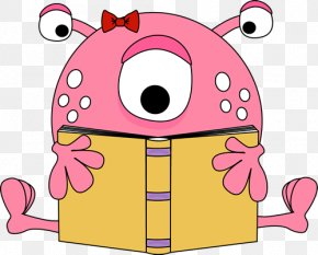 Book Reading Pictures - Reading The Color Monster: A Pop-up Book Of Feelings Clip Art PNG