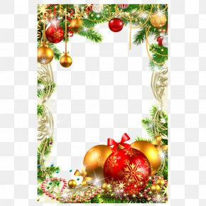 Christmas Ornament Square Frame - Christmas Decoration Christmas Ornament Christmas Tree PNG