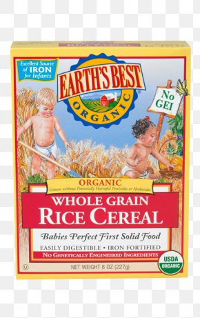 Rice Cereal - Rice Cereal Baby Food Breakfast Cereal Organic Food Whole Grain PNG