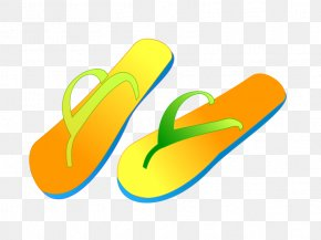 Spring Shoes Cliparts - Flip-flops Slipper Clip Art PNG