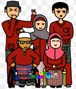 Hari Raya Aidilfitri - Eid Al-Adha Holiday Cartoon Clip Art PNG