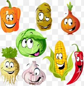 Hand-painted Cartoon Vegetables Cartoon - Vegetable Fruit Vegetal Drawing Dessin Animxe9 PNG